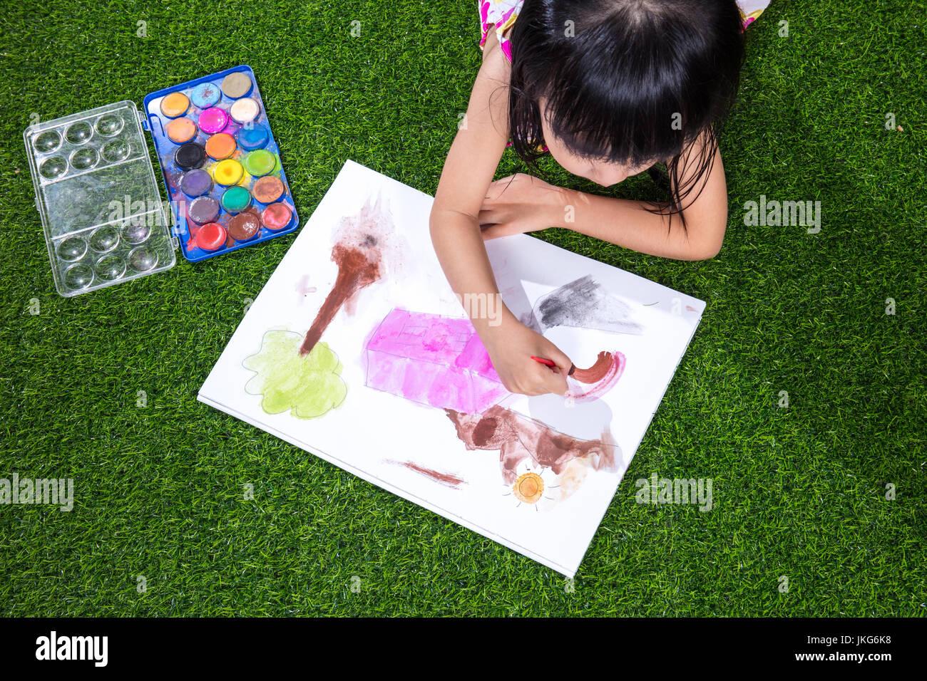 wie man ein chinesisches Mädchen zeichnet