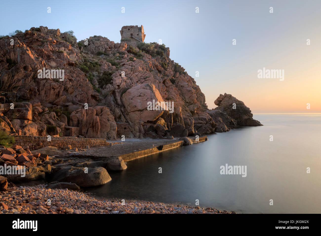 Porto, Ota, Korsika, Frankreich Stockfoto