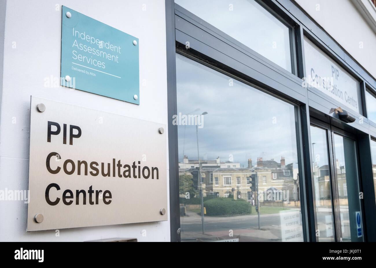 PIP (persönliche Unabhängigkeit Zahlungen) Beratungszentrum, Southampton, Hampshire, UK Stockbild