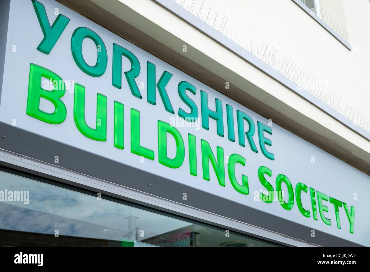 Yorkshire Building Society, Southampton, Hampshire, UK Stockbild