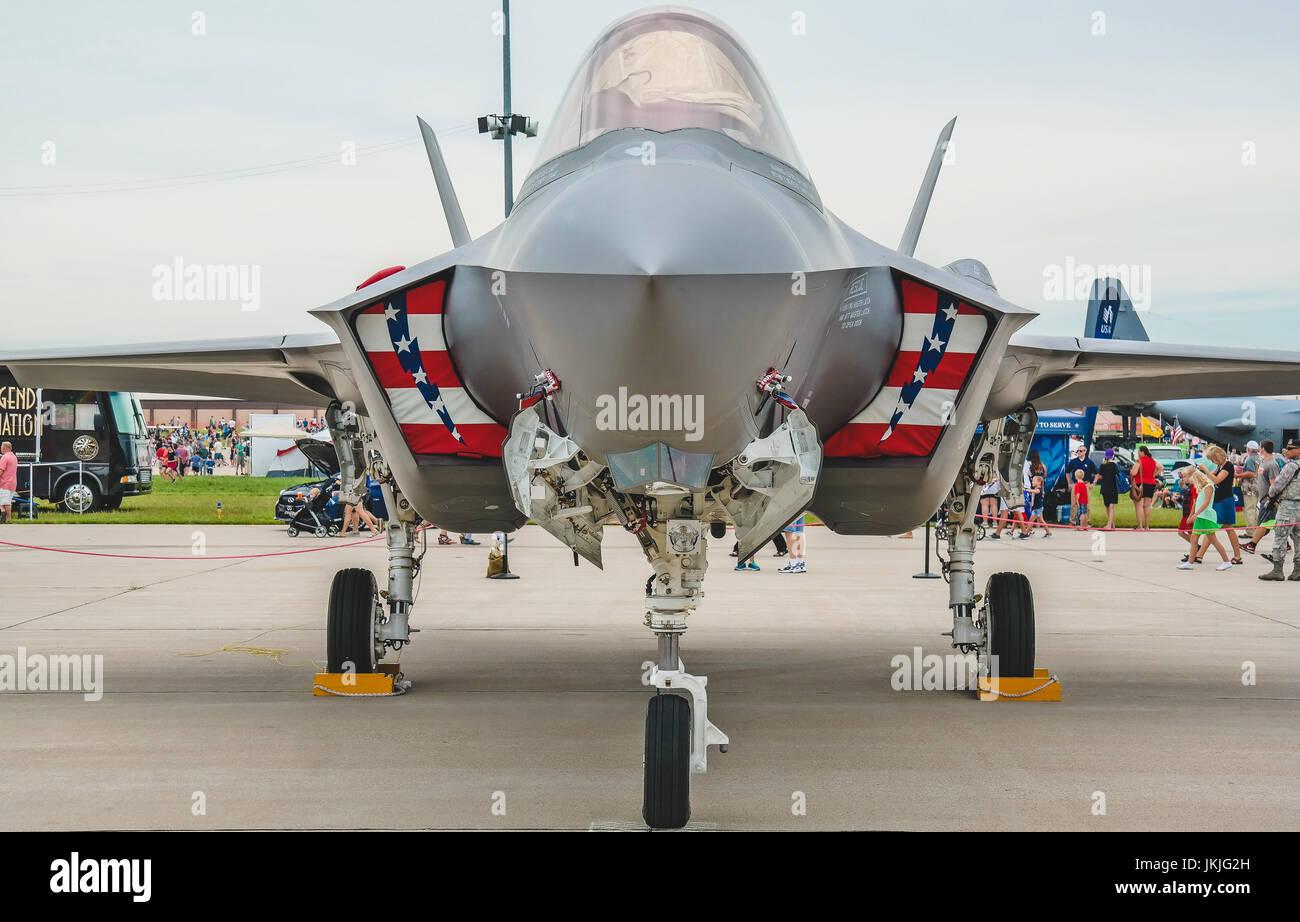 Usa Dover Luft Force Base Delaware Postkarte Nordamerika