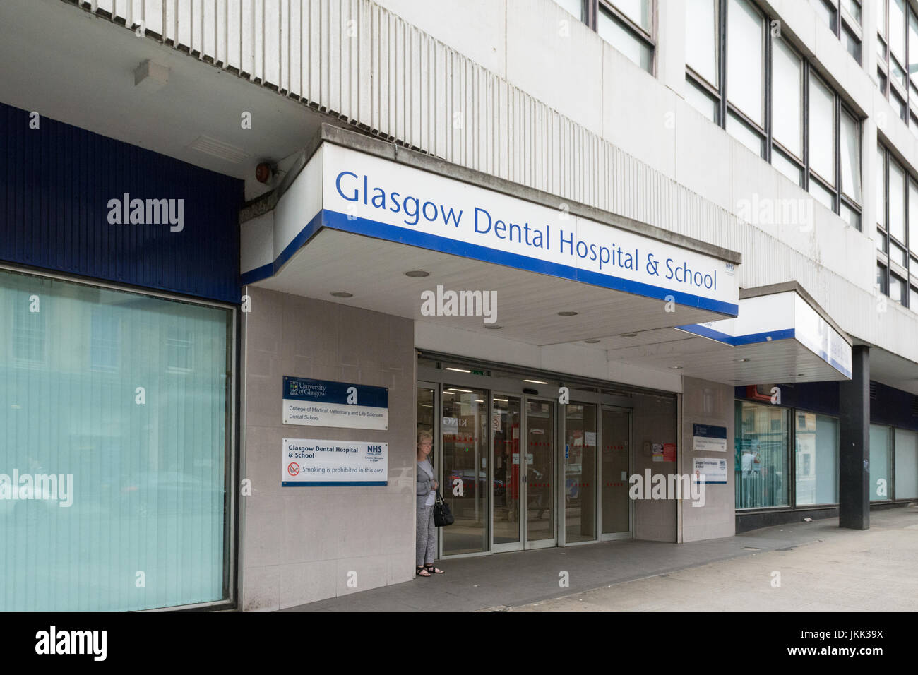 Glasgow Dental Hospital Stockbild