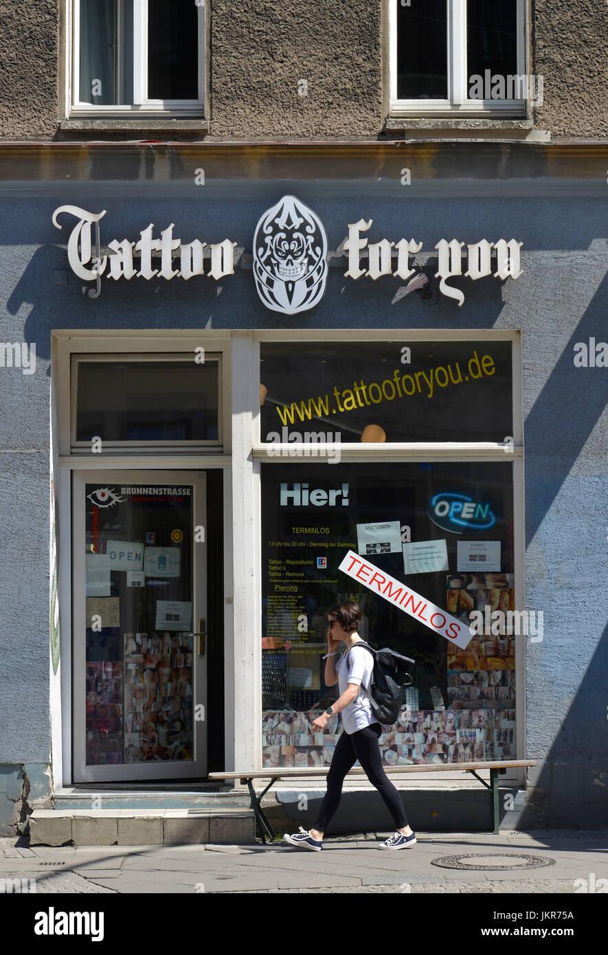 Tattoos Berlin Germany Stockfotos und  bilder Kaufen   Alamy