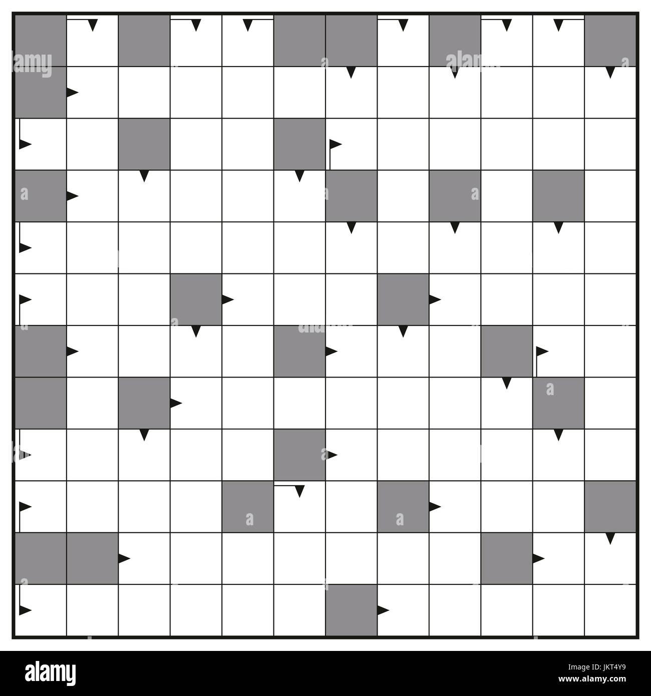 kreuzwortrtsel leere crossword puzzle muster quadratisches formatvorlage einfgen alle wrter mit ein bis zwlf buchstaben fr eine klare botschaft - Puzzle Muster