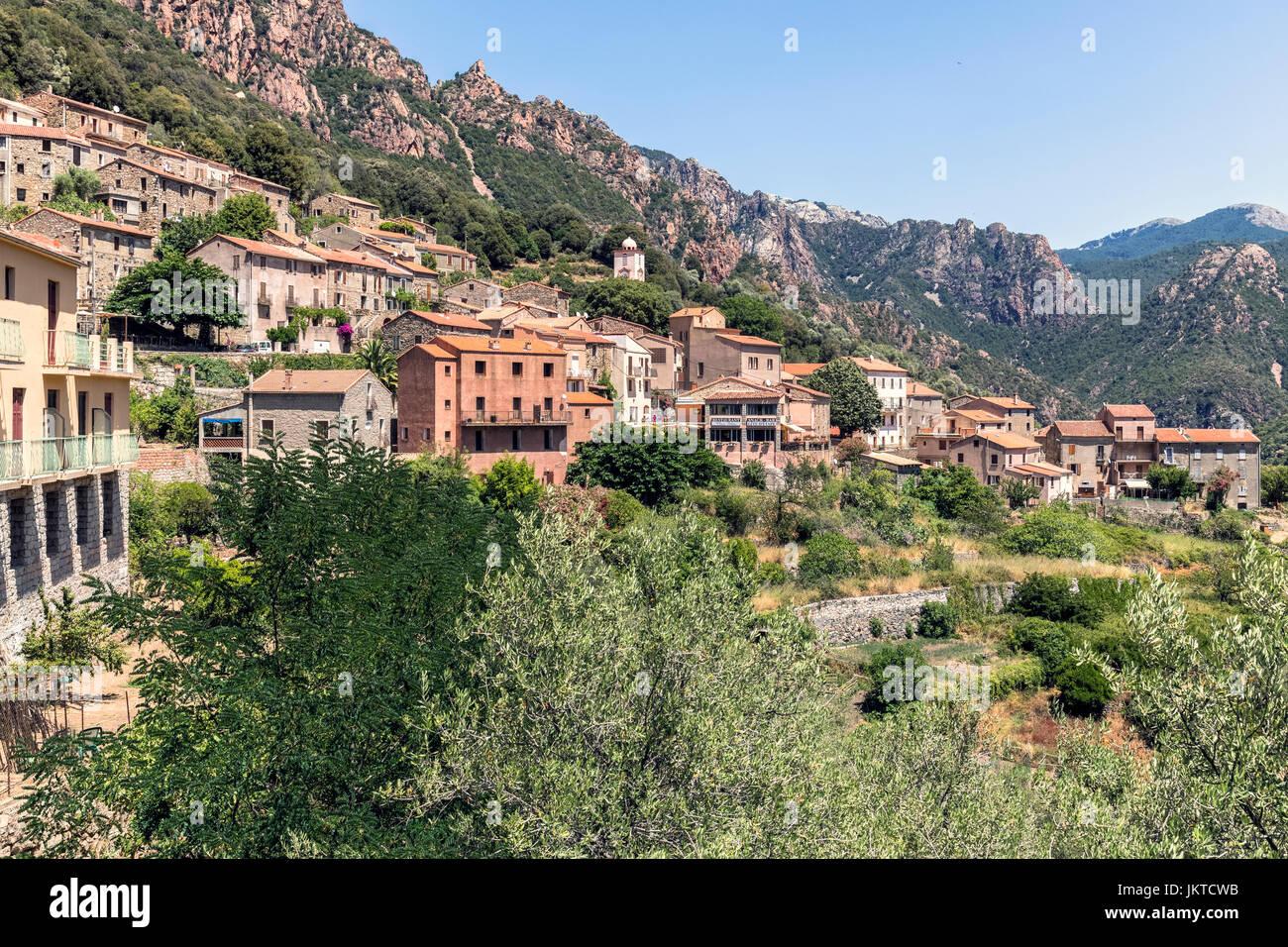 OTA, Korsika, Frankreich Stockfoto