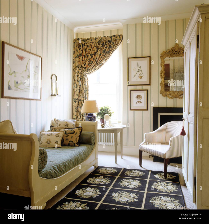 Country Style Schlafzimmer Stockfotografie Alamy
