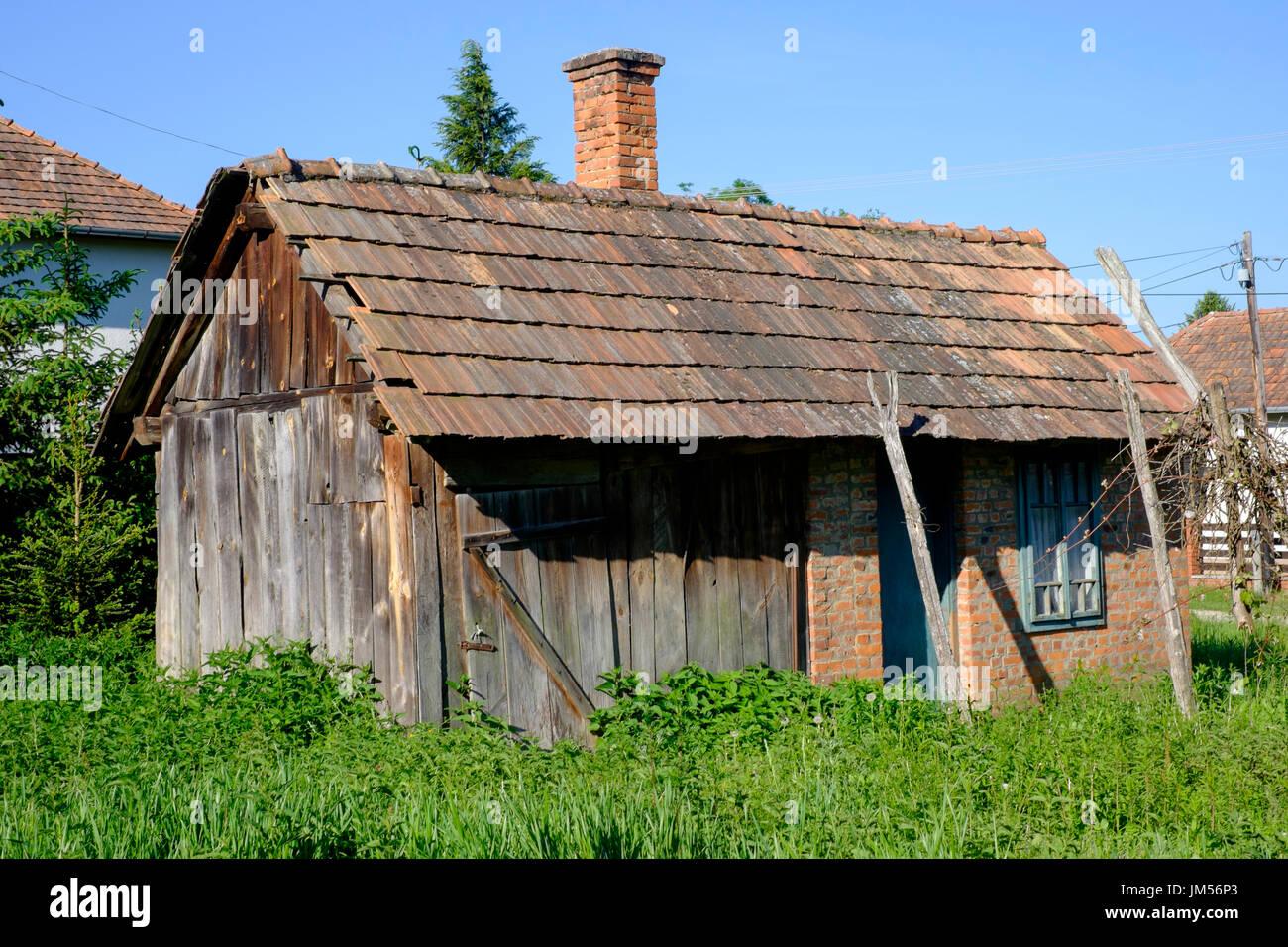 Sommerküche Im Garten : Sommer küche nebengebäude im garten eines typischen ländlichen dorf