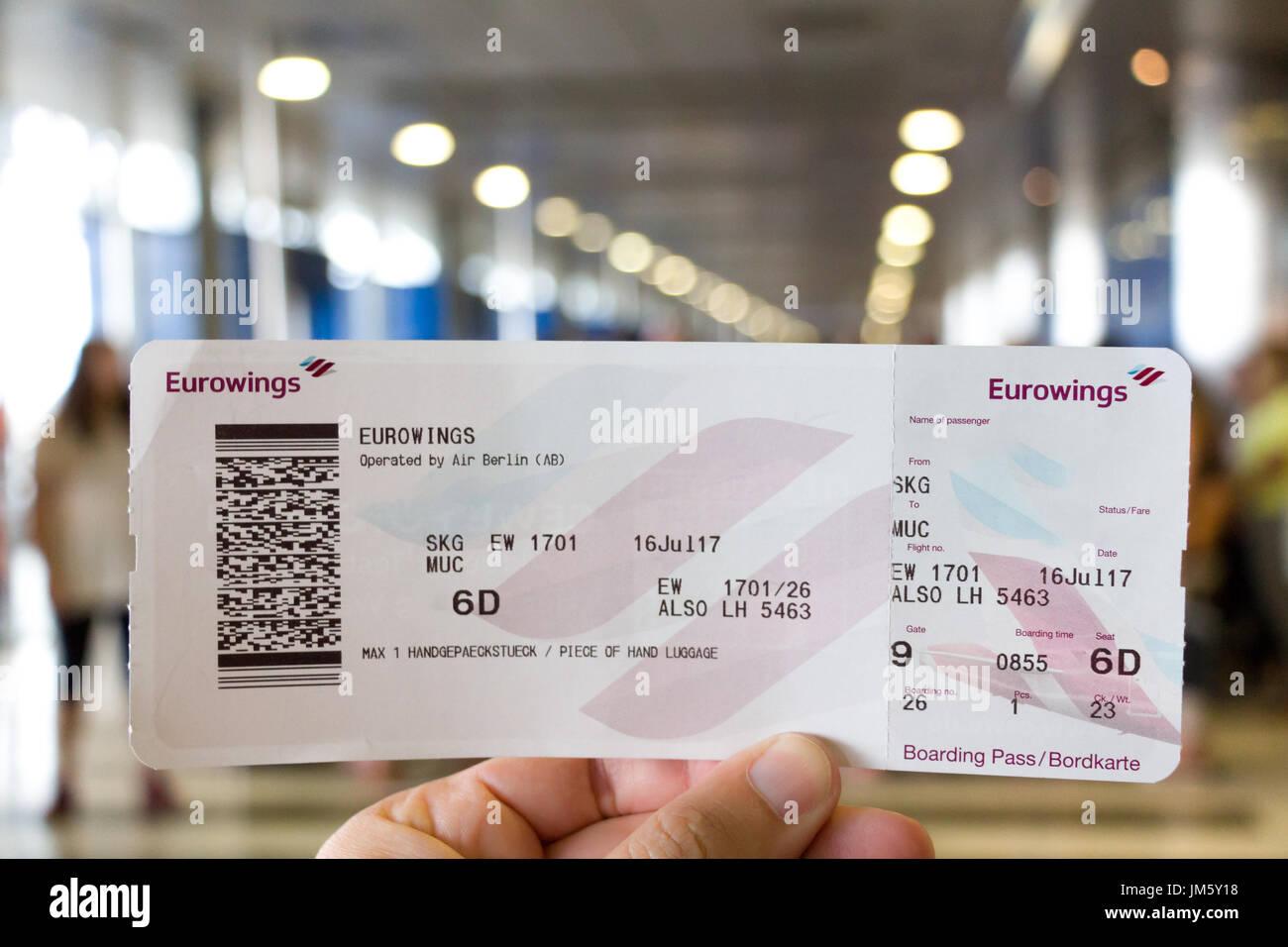eurowings bordkarte