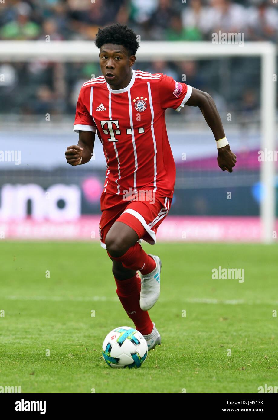 FC Bayern München Vs Werder Bremen David Alaba aus München