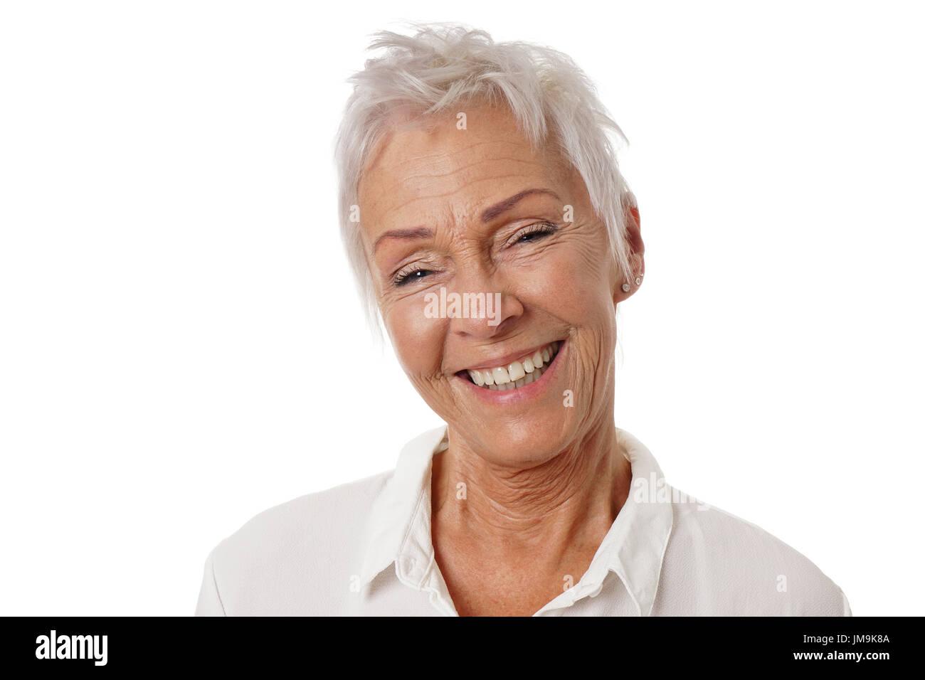 Haare weiße Kolumne: Der