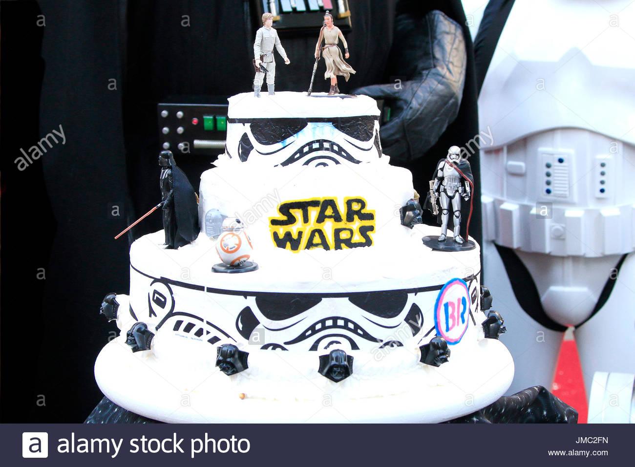 Hochzeitstorte Australische Star Wars Fans Andrew Porters Und