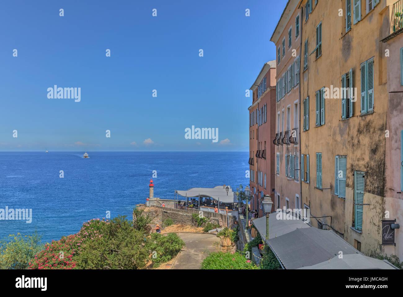 Bastia, Haute-Corse, Korsika, Frankreich Stockbild