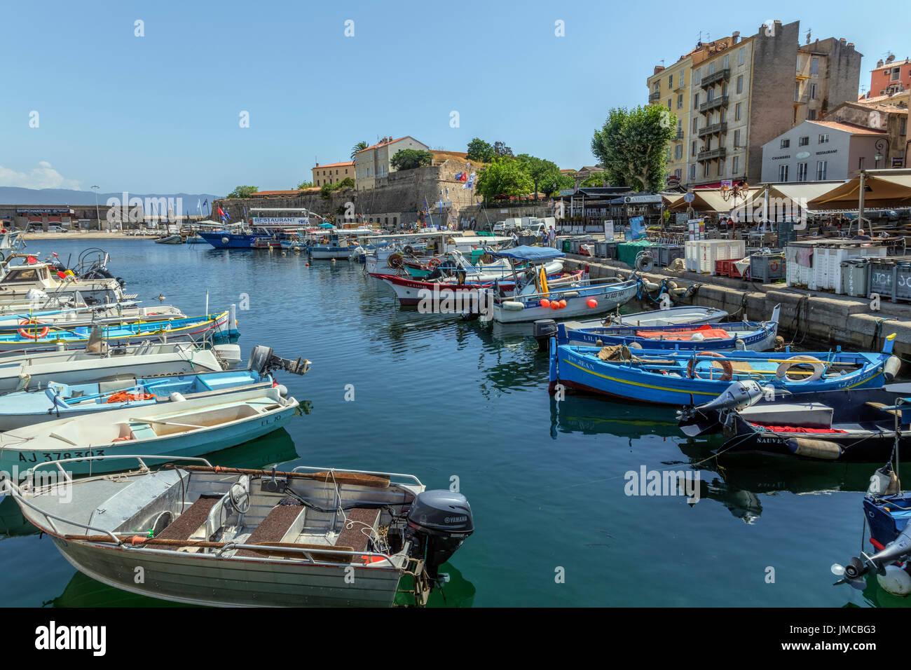 Ajaccio, Korsika, Frankreich Stockbild