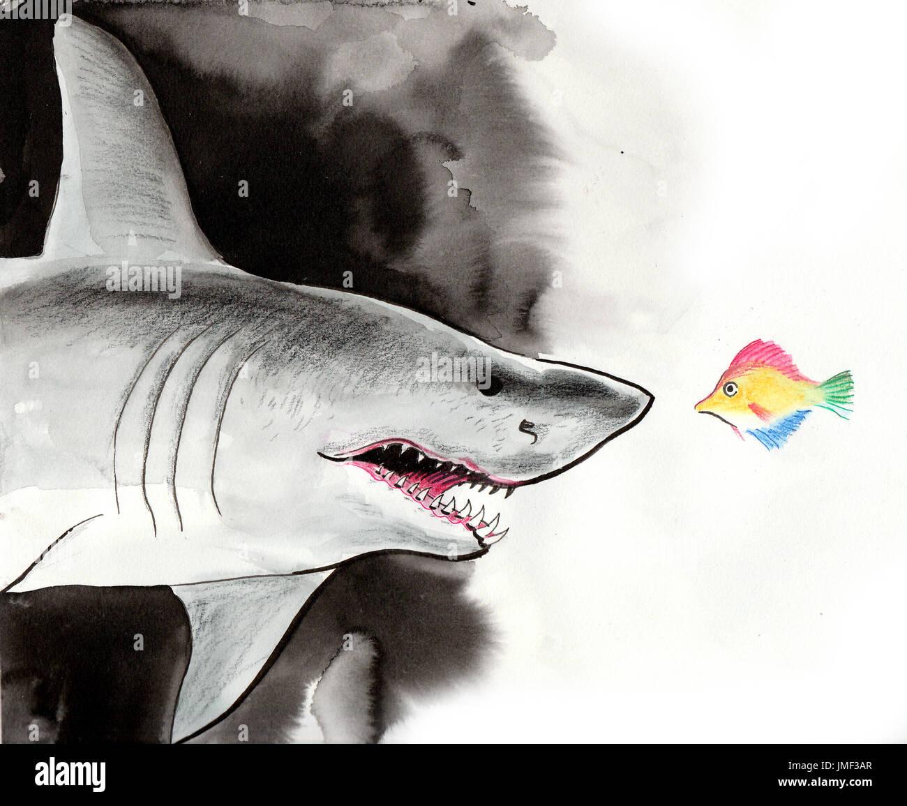Ungewöhnlich Meine Großen Weißen Hai Malvorlagen Fotos - Entry Level ...