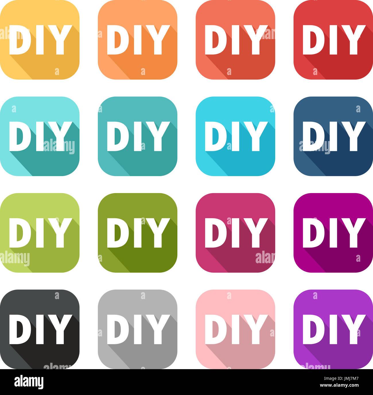 Diy Symbol Fur Renovierung Arbeit Und Dekoration In Einem Haus