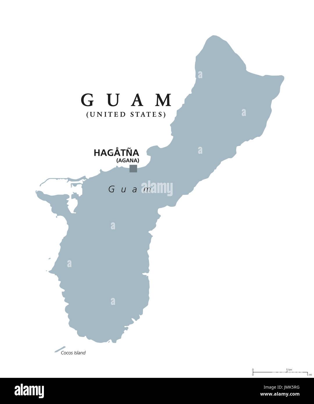 Guam Map Stockfotos & Guam Map Bilder - Alamy