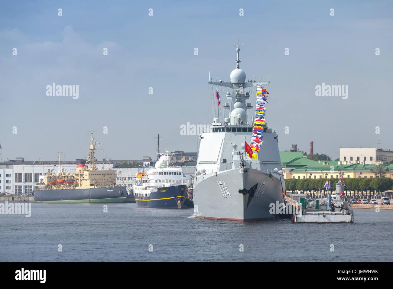 Chinese Navy And Warship Stockfotos & Chinese Navy And Warship ...