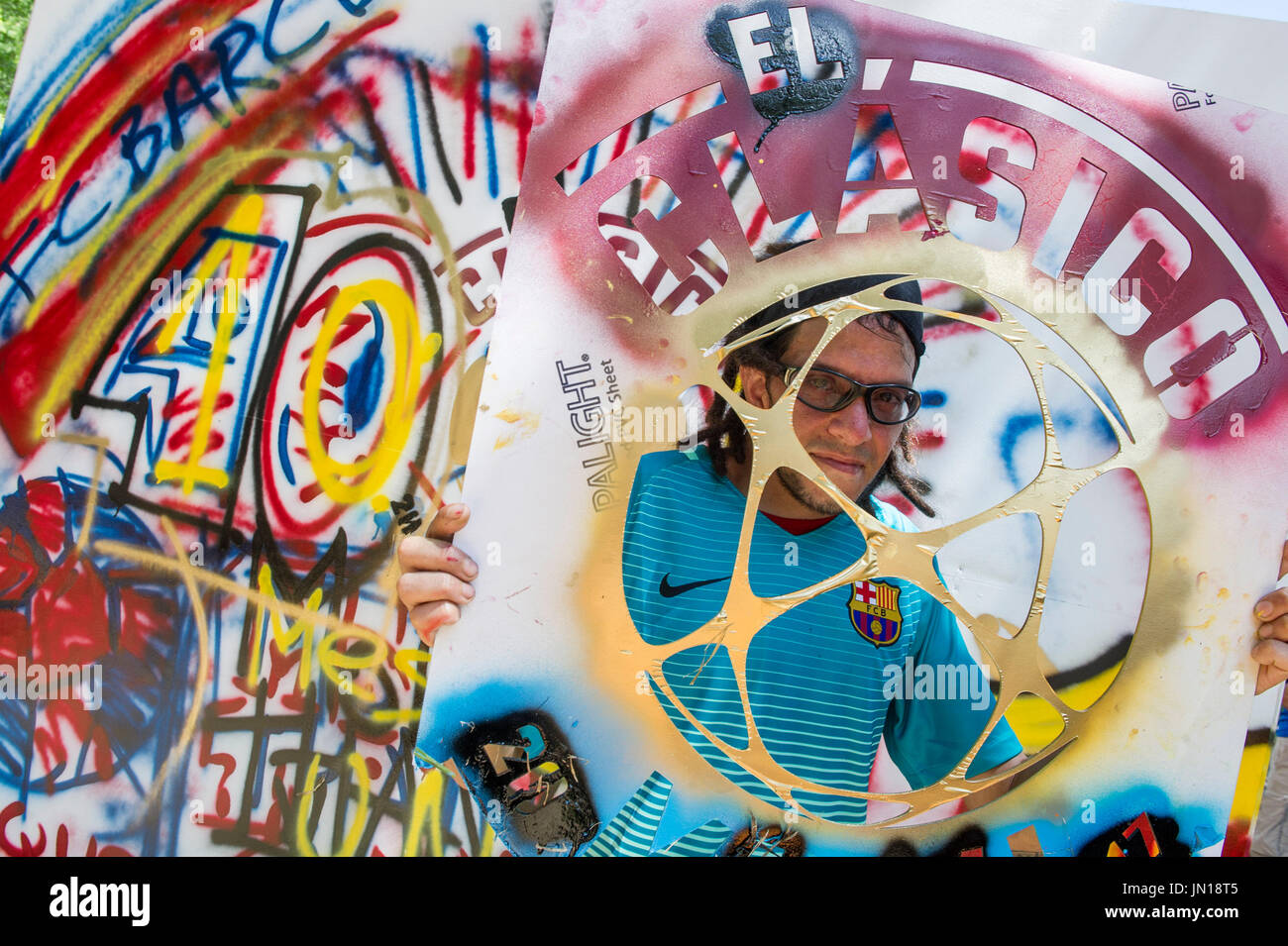 Real Madrid Barcelona Stockfotos & Real Madrid Barcelona Bilder - Alamy