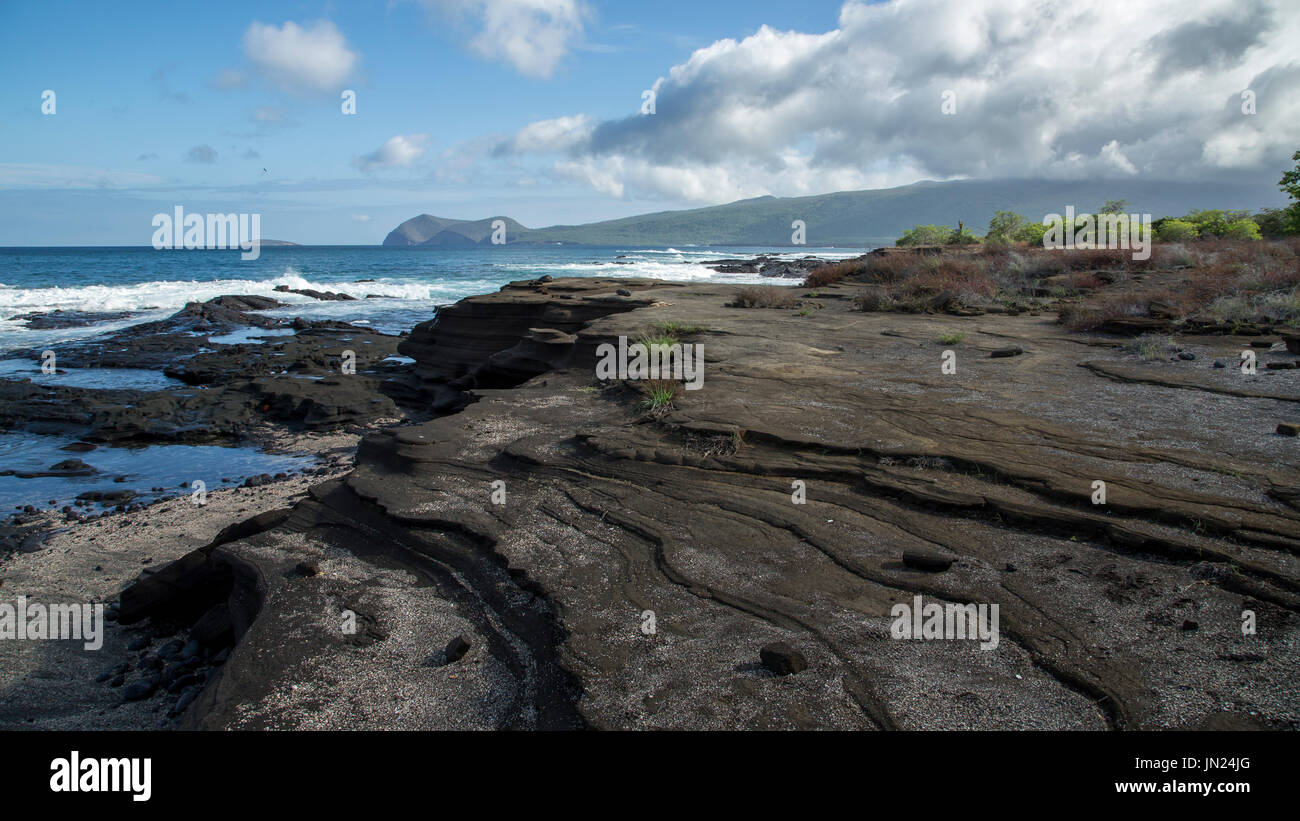 Galapagos Inseln Landschaft - Paisaje Islas Galápagos Stockbild