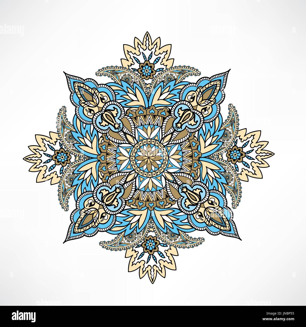 arabisch ornament hintergrund orientalische ethnischen mandala amulett abstrakt floral. Black Bedroom Furniture Sets. Home Design Ideas