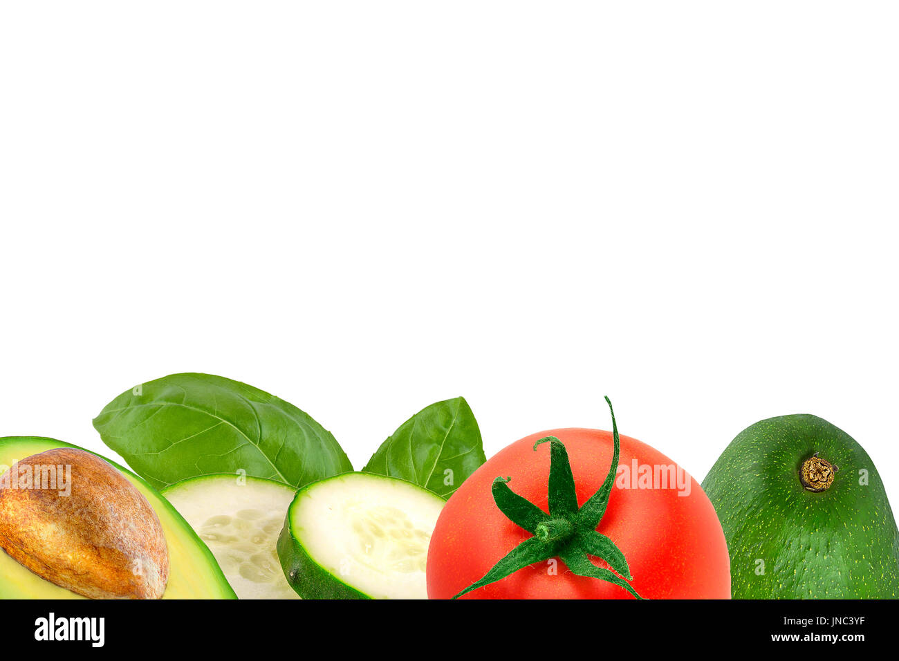 fruits vegetables border stockfotos fruits vegetables border bilder alamy. Black Bedroom Furniture Sets. Home Design Ideas