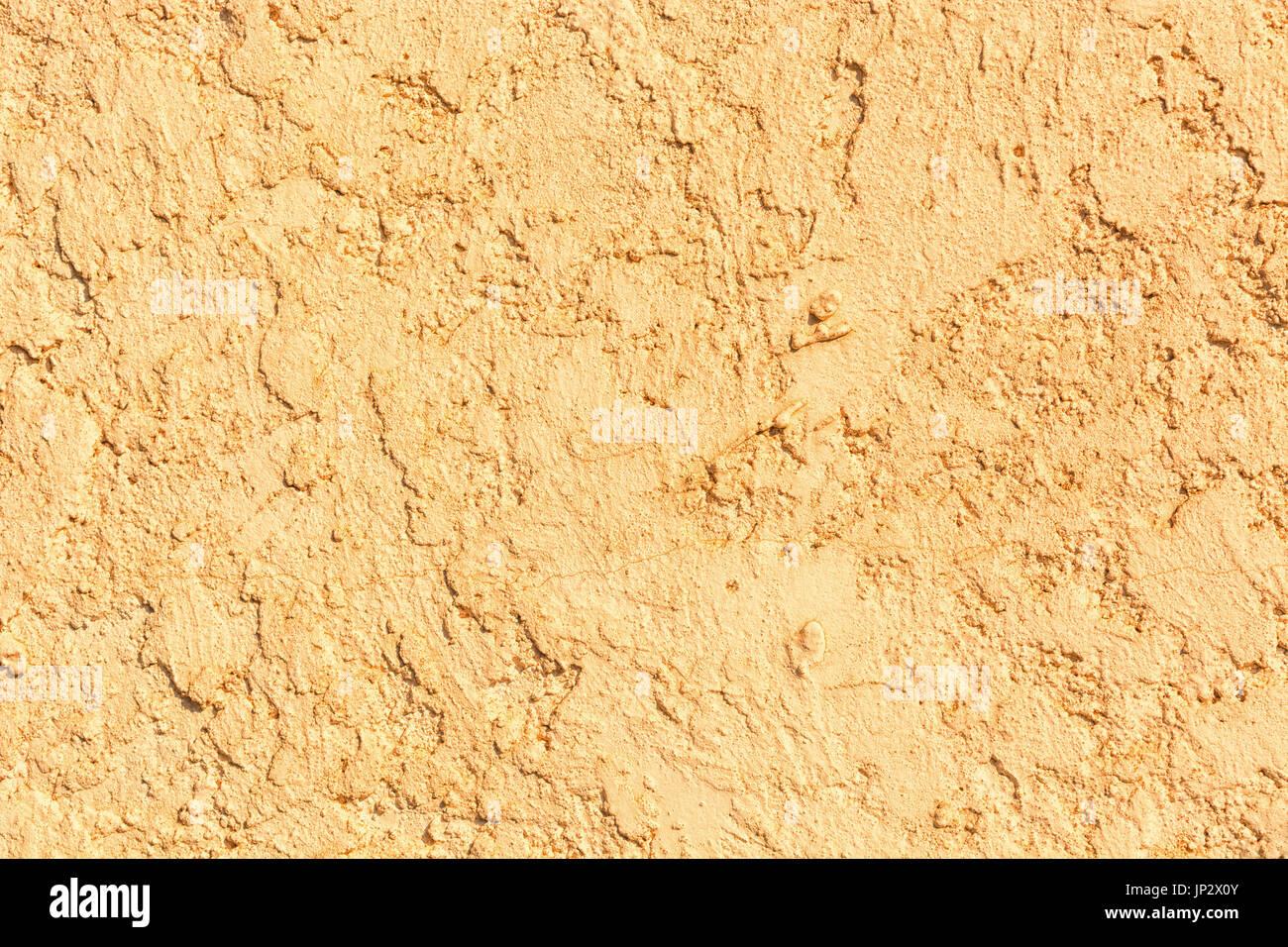 Detail Eines Alten Verputzt Mediterrane Mauer. Alte Wand Textur. Wand Als  Hintergrund. Alter