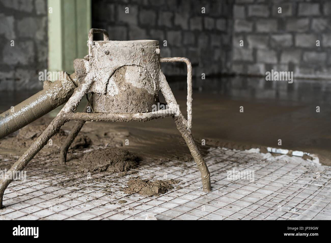 screed floor stockfotos screed floor bilder alamy. Black Bedroom Furniture Sets. Home Design Ideas