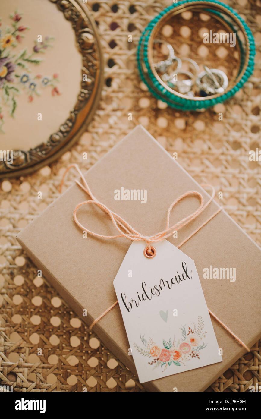 Alternative Hochzeit Schmuck Prasentieren Stockfoto Bild