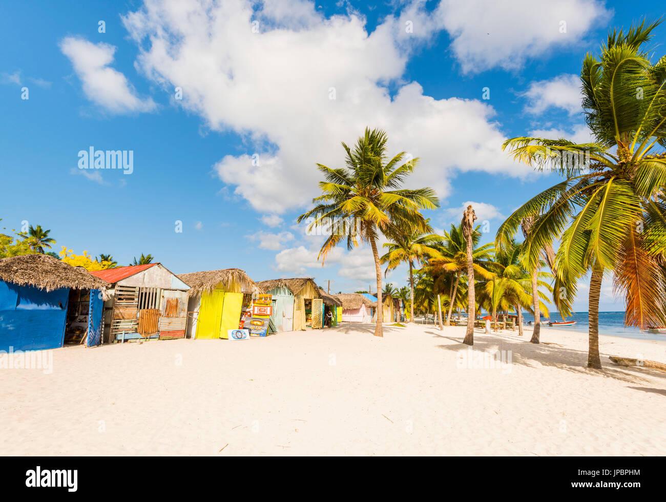 Mano Juan, Saona, East National Park (Parque Nacional del Este), Dominikanische Republik, Karibik. Stockbild