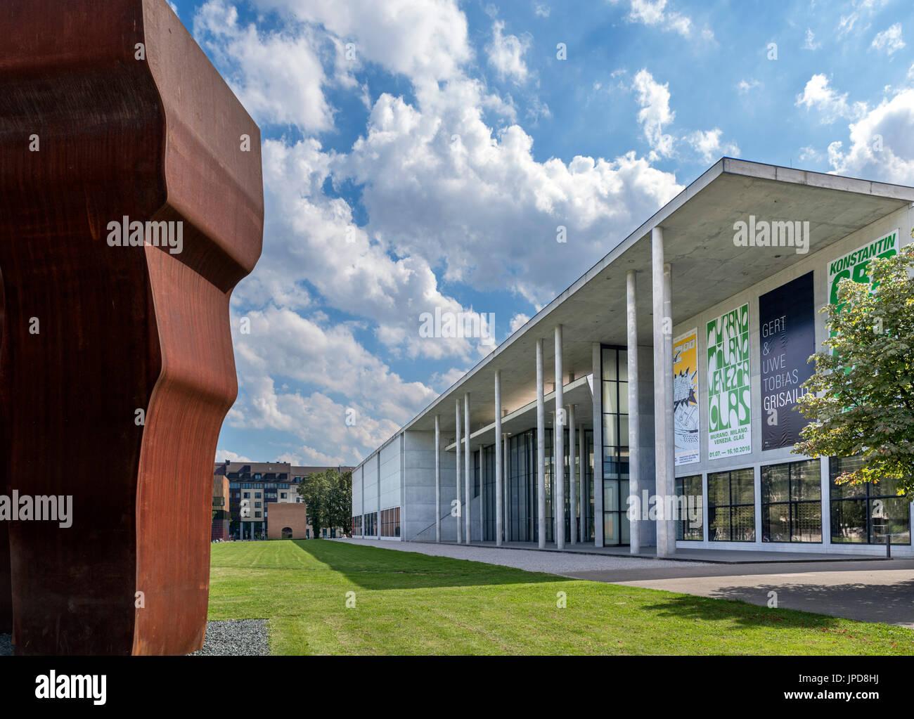 Pinakothek der Moderne-Kunst-Galerie, München, Bayern, Deutschland Stockbild