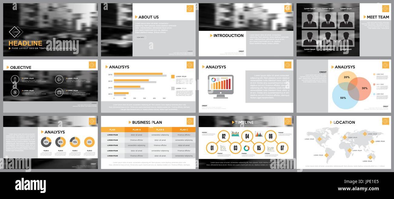 Gestaltungselement der Infografiken für Präsentationen Vorlagen ...