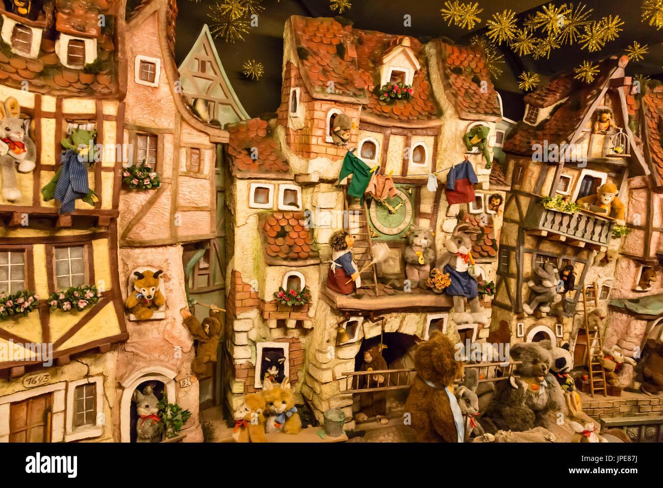 Traditionelles Weihnachtsessen In Deutschland.Rothenburg Ob Der Tauber Bayern Deutschland Europa Traditionelle
