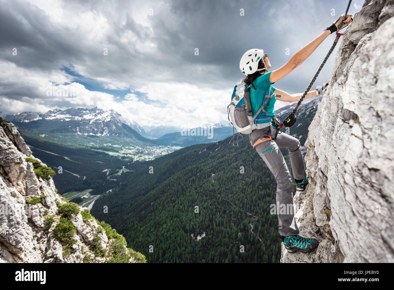 Klettersteig Weibl : Klettersteig weibl ettaler mandl bergtour info