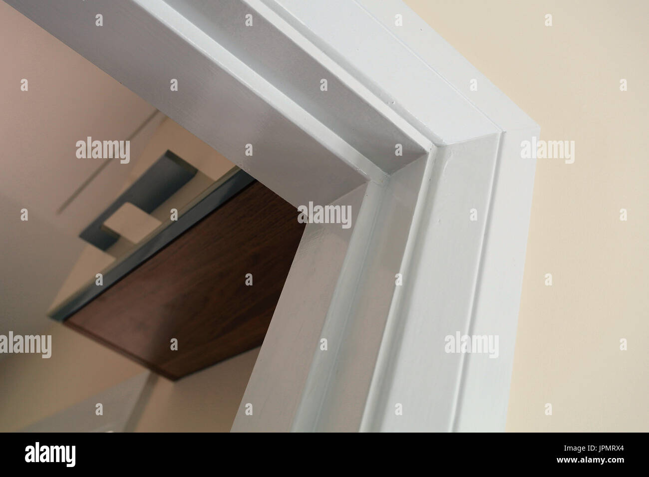 interne Türrahmen, Holz Türrahmen Stockfoto, Bild: 151663180 - Alamy