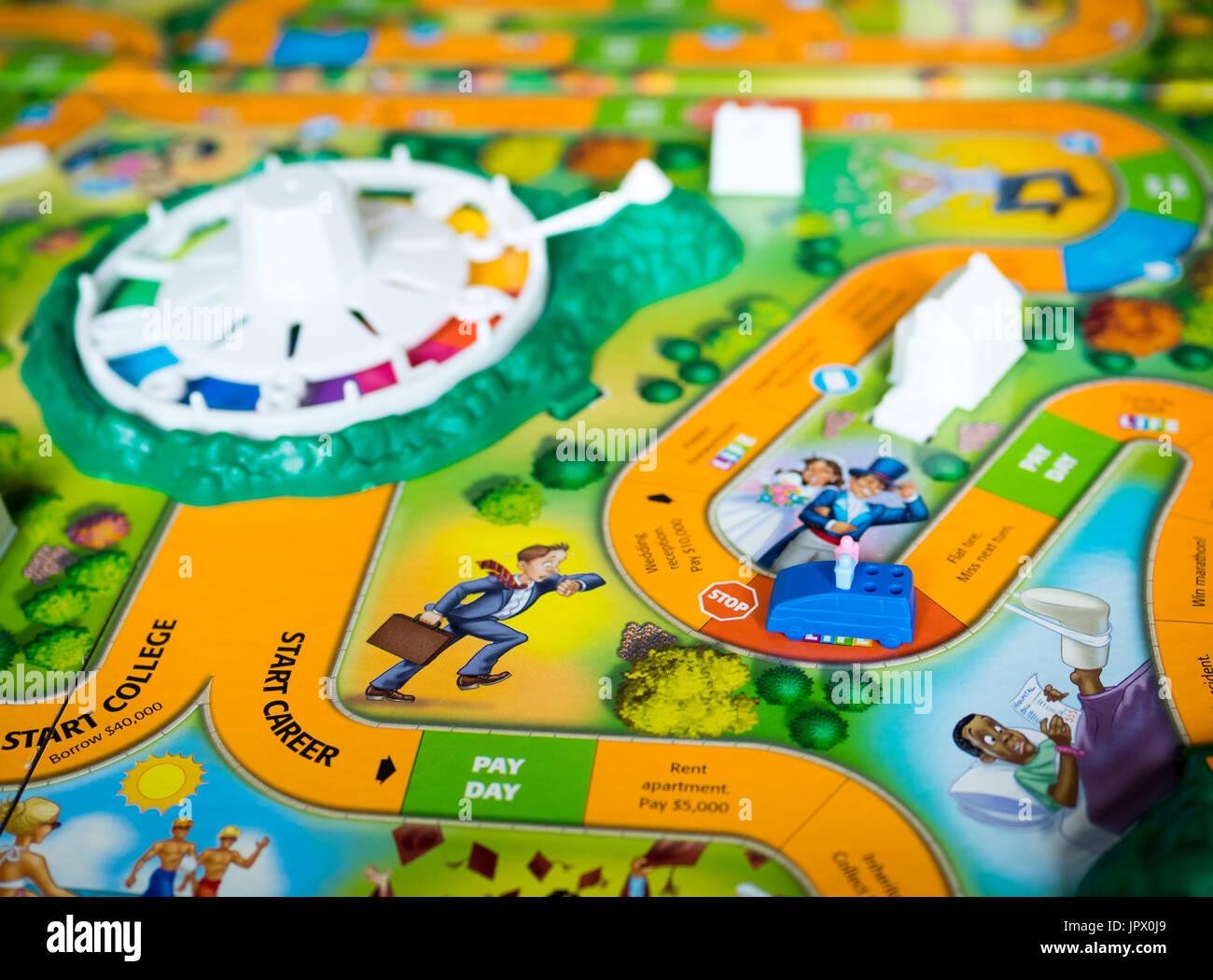 Ein Blick Auf The Game Of Life Auch Bekannt Als Leben Ein