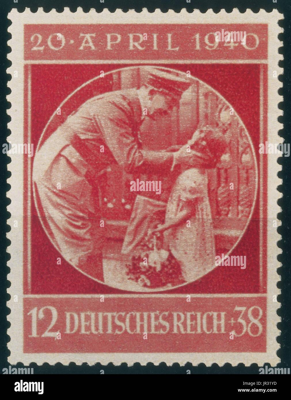 Deutsche Briefmarke Stockfotos Deutsche Briefmarke Bilder Alamy