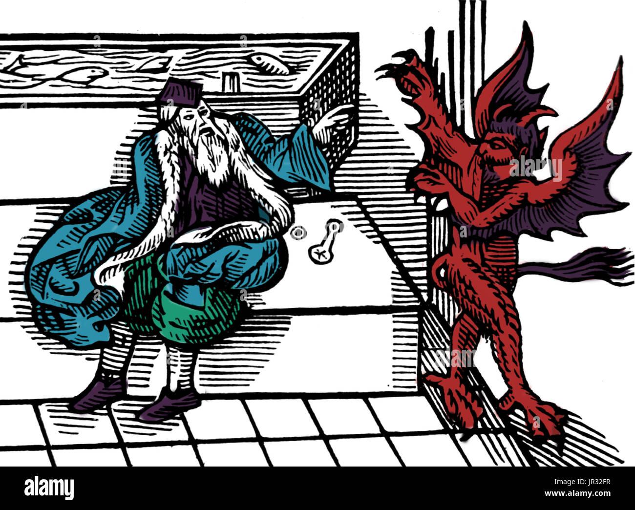 Der Teufel Hasst Hygiene, öffentliche Badezimmer, 1590 S