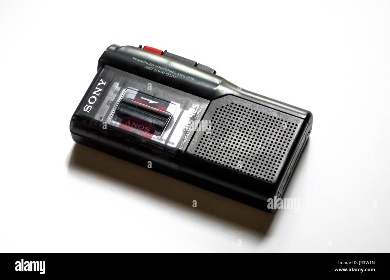 Micro Recording Stockfotos & Micro Recording Bilder - Alamy