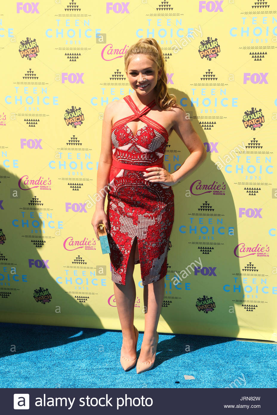 Natalie Alyn Lind. LOS ANGELES, CA, USA - AUGUST 16: Teen Choice ...