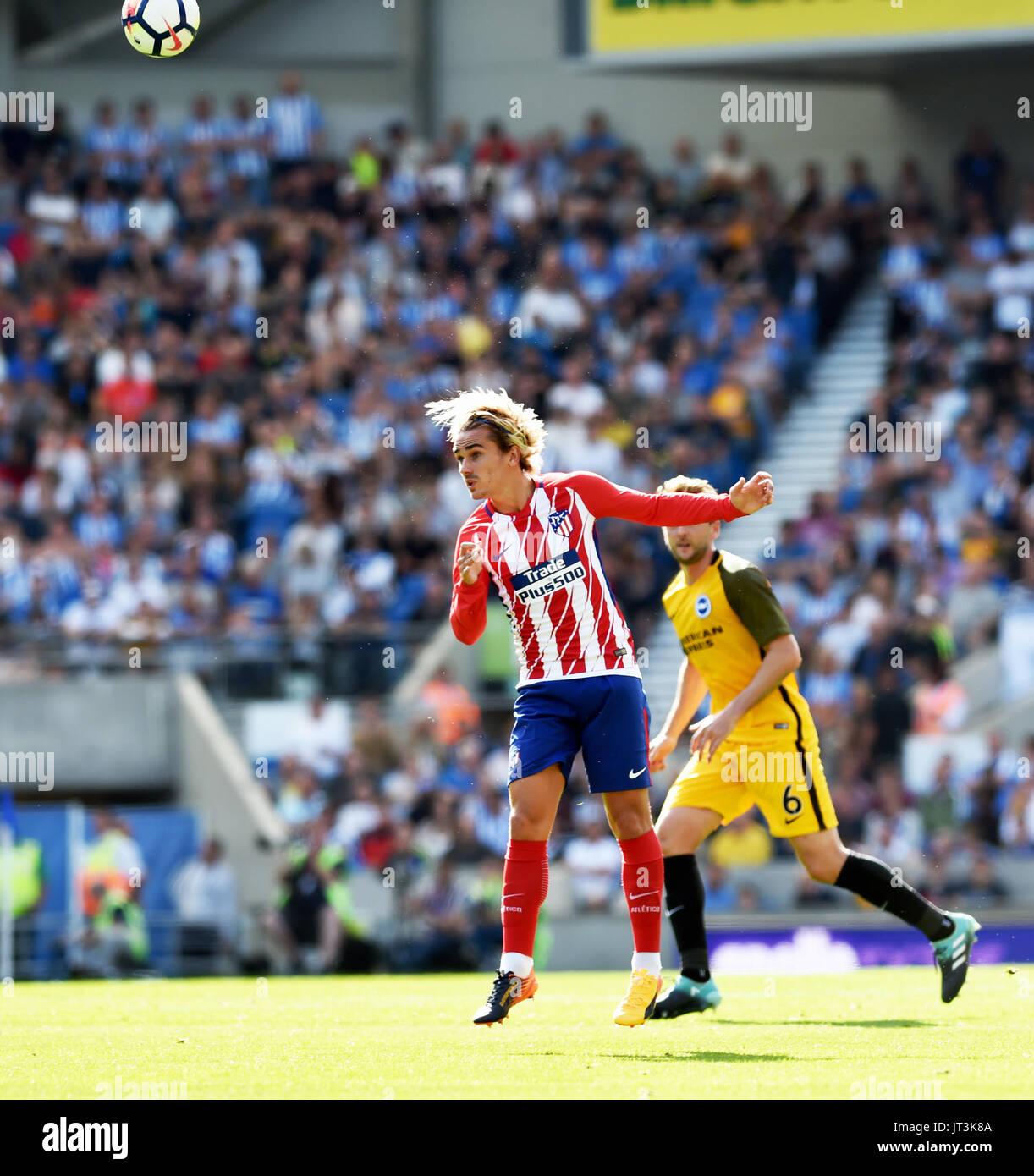 Antoine Griezmann von Atlético Madrid, während das ...