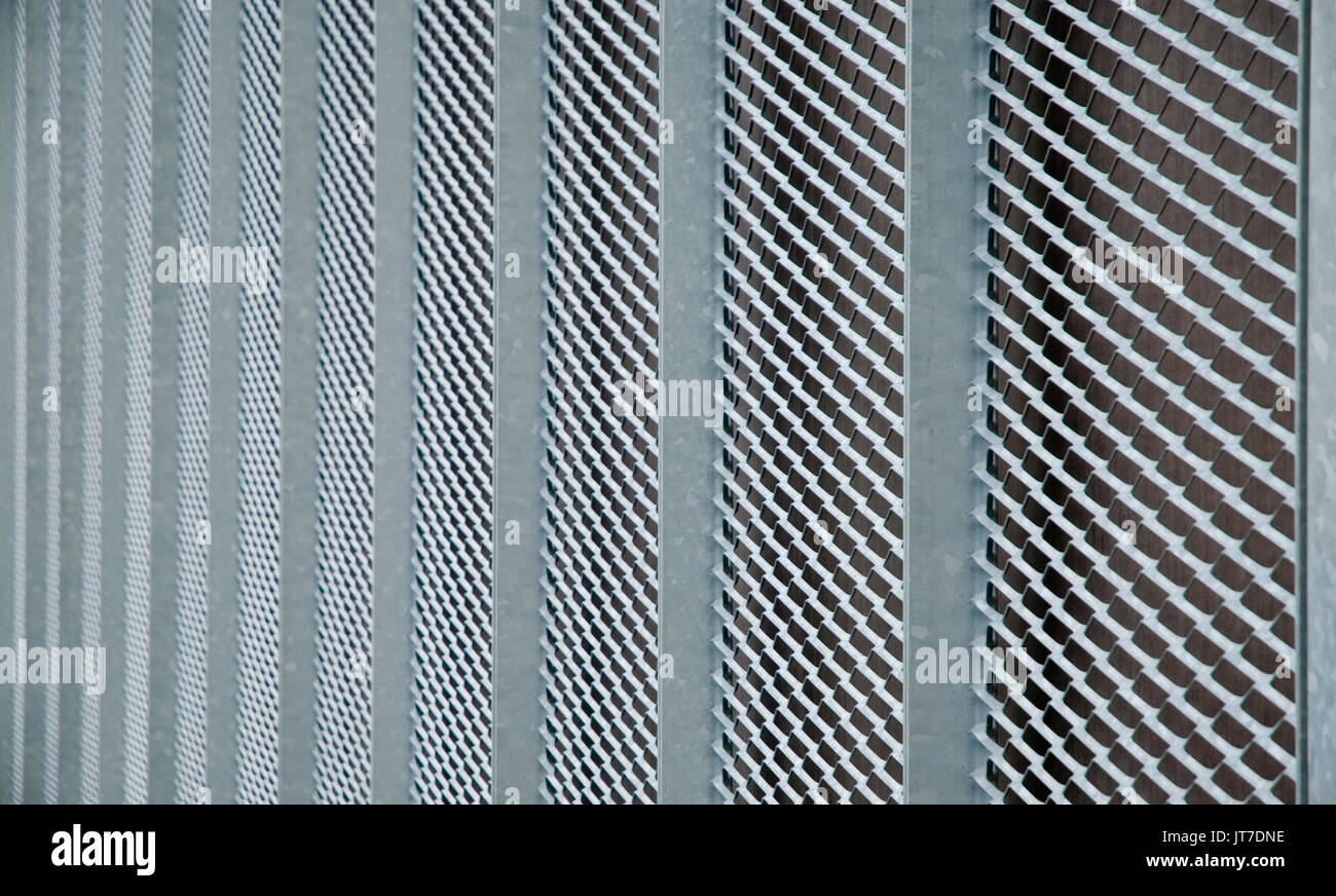Metallgitter Stockbild