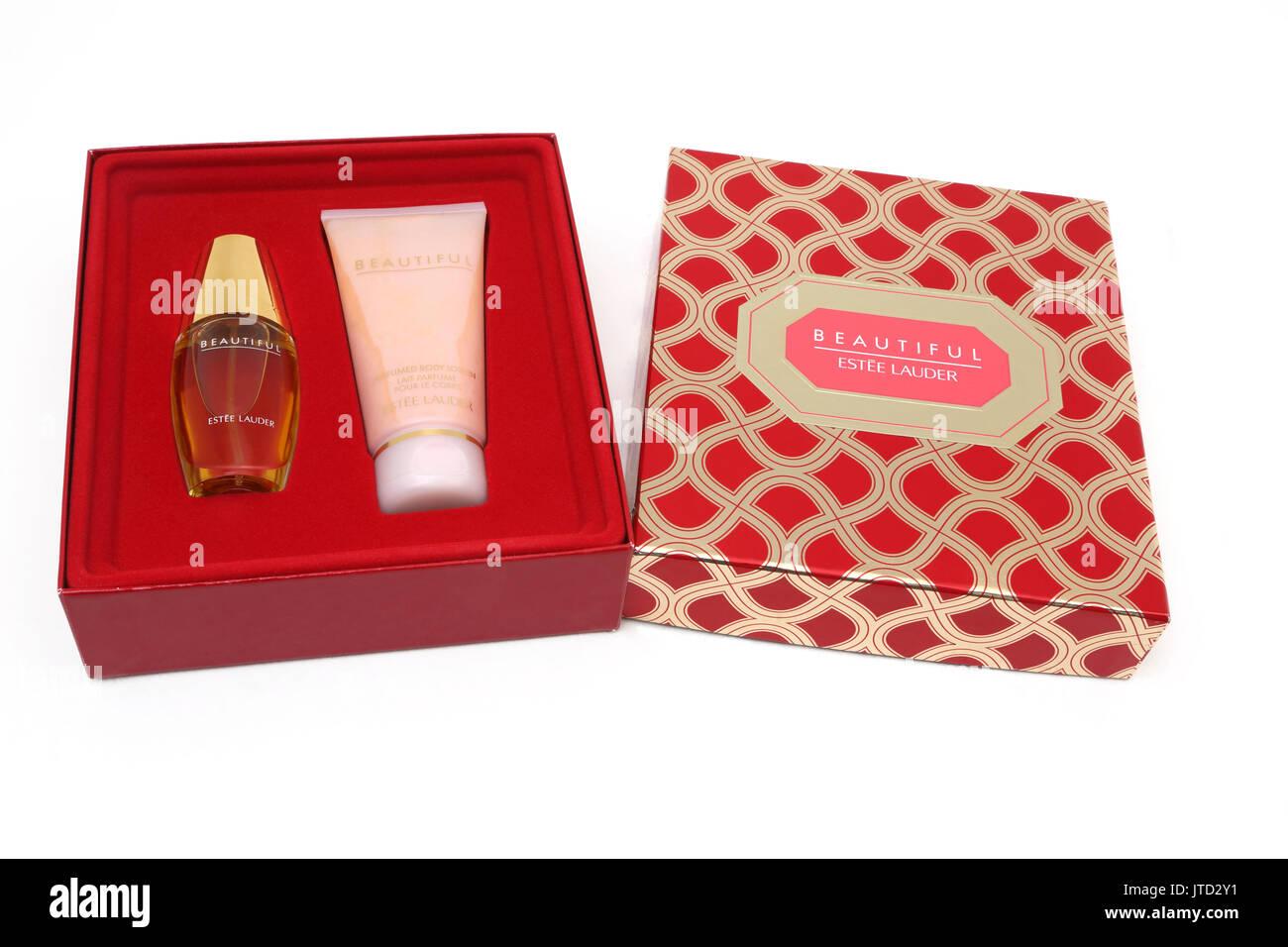 Schöne Estee Lauder Eau De Parfum Spray und Body-Lotion-Geschenk-Set ...