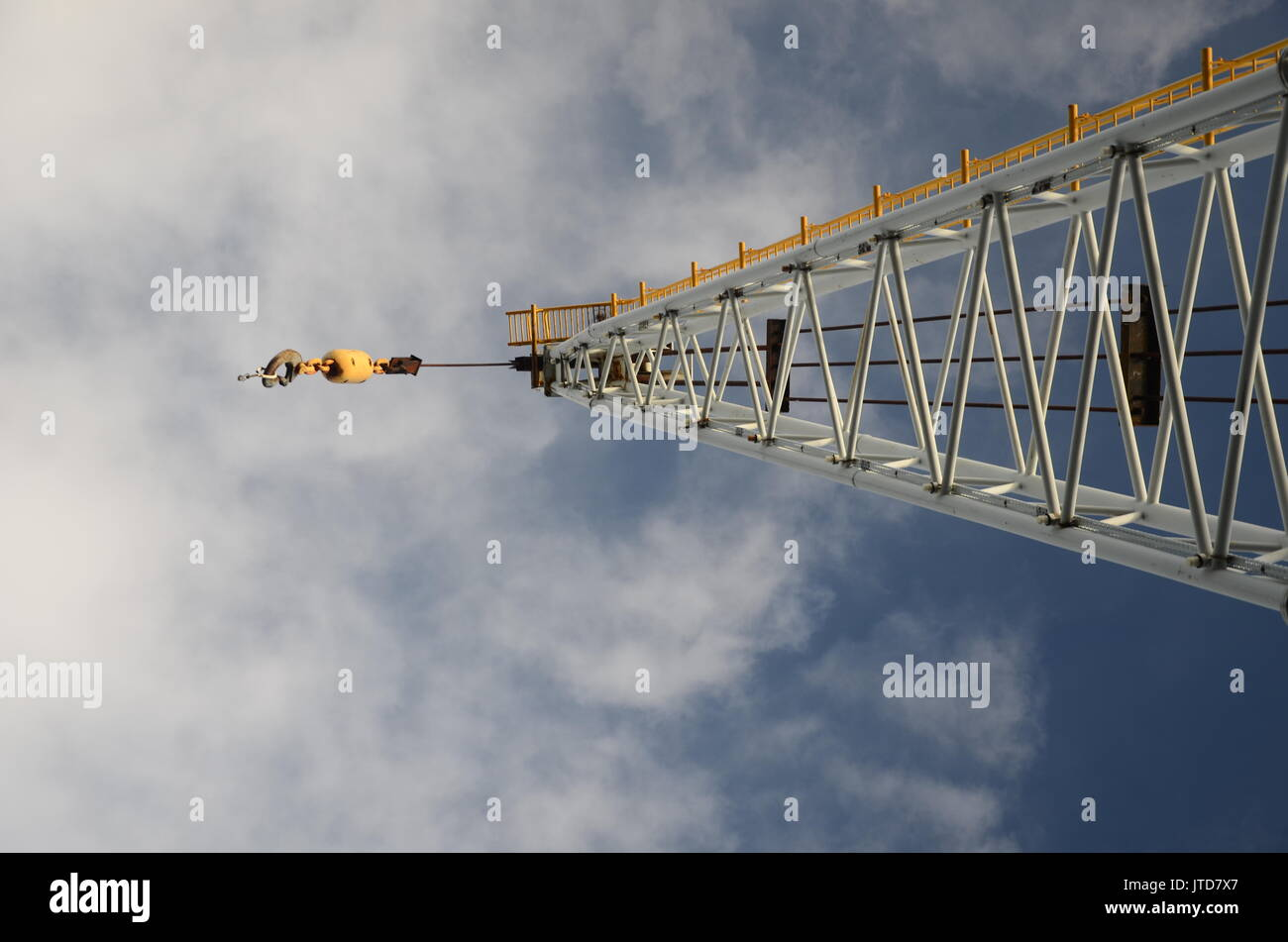 Hydraulic Crane Lift Stockfotos & Hydraulic Crane Lift Bilder - Alamy