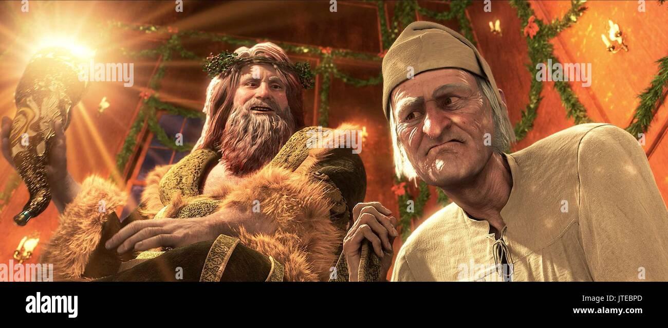 Geist von Weihnachten & EBENEZER SCROOGE A CHRISTMAS CAROL (2009 ...