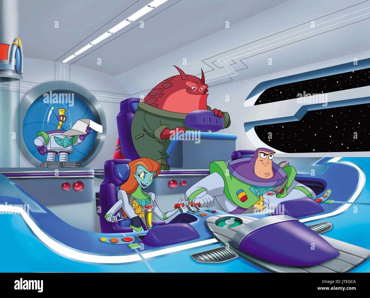 Buzz Lightyear Buzz Lightyear Of Star Command Stockfotos Buzz