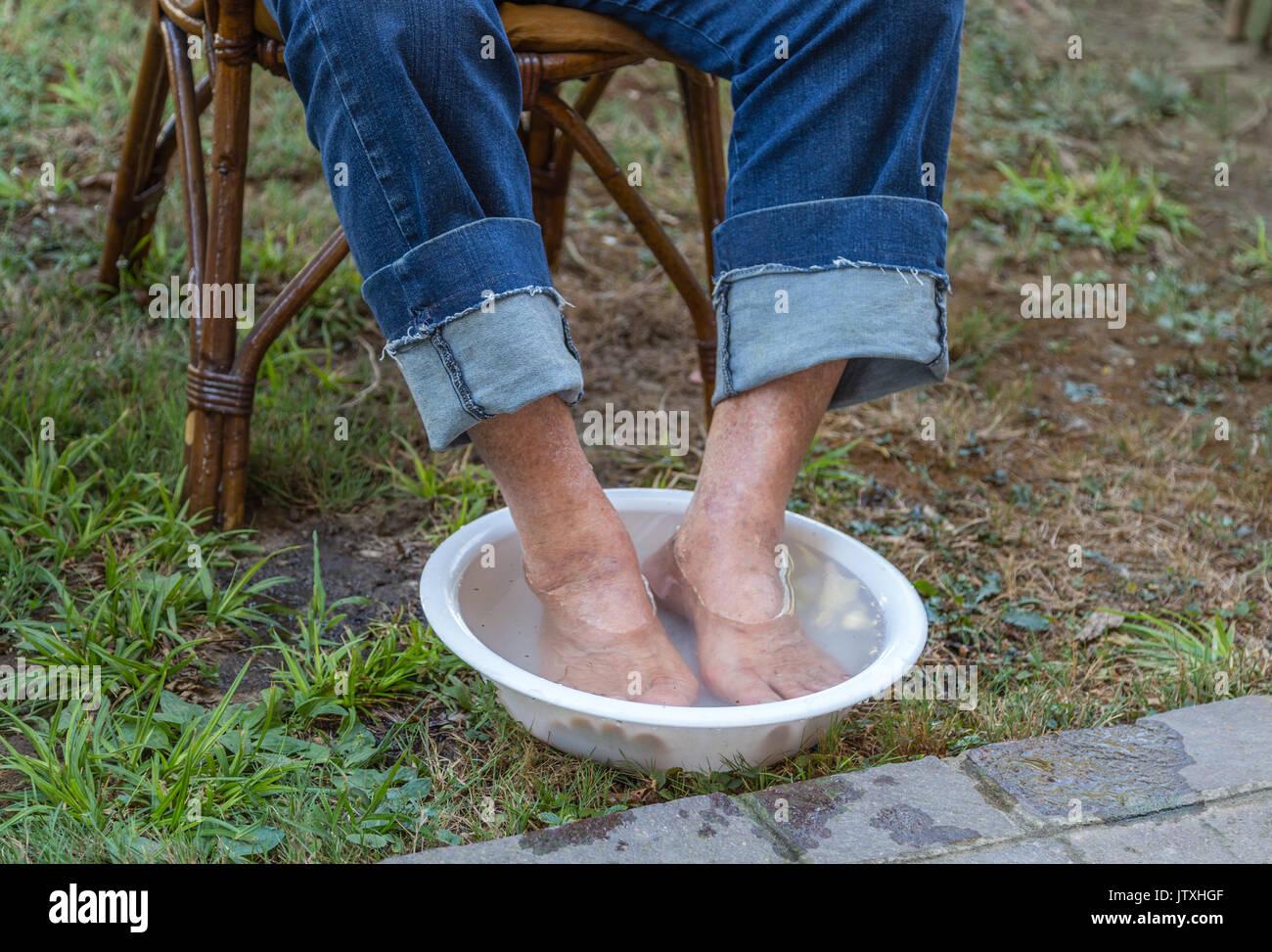 ältere Füße Bilder