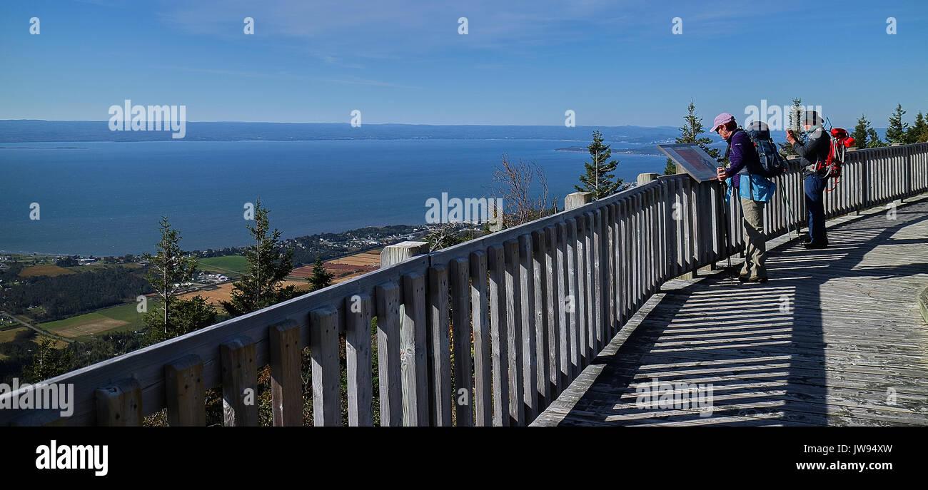 Amerika, Kanada, Québec, Gaspésie, Carleton, auf dem Weg bis zum Mont Mont St-Joseph St-Joseph, die Kapelle Stockbild