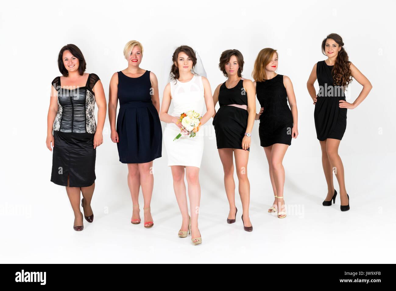 Atemberaubend Braut Bachelorette Party Kleid Fotos - Brautkleider ...