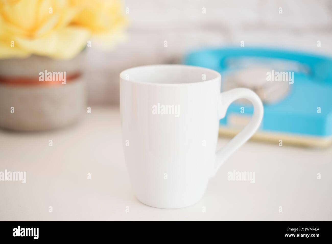 Becher Mockup. Kaffee Tasse Vorlage. Kaffeebecher Druck Design ...