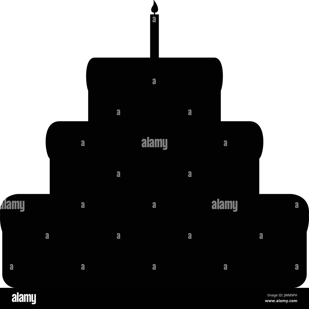 Großartig Geburtstag Kerze Malseite Ideen - Malvorlagen Von Tieren ...